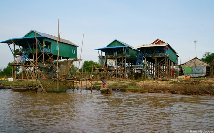Floating Village (during dry season)