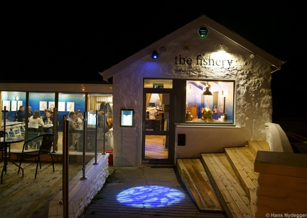 Port St Mary: the fishery restaurant