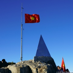 Fansipan 3143 m: highest mountain in the Indochinese Peninsula (comprising Vietnam, Laos, and Cambodia)